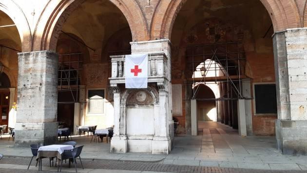 Cremona aderisce Giornata mondiale Croce Rossa esponendo la bandiera