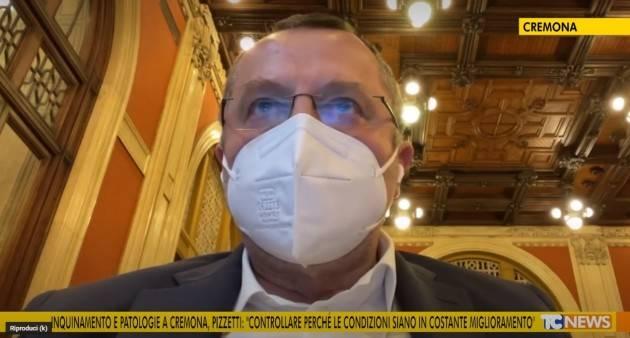 Inquinamento e Patologie a Cremona Ricci  invita Pizzetti  alla riflessione