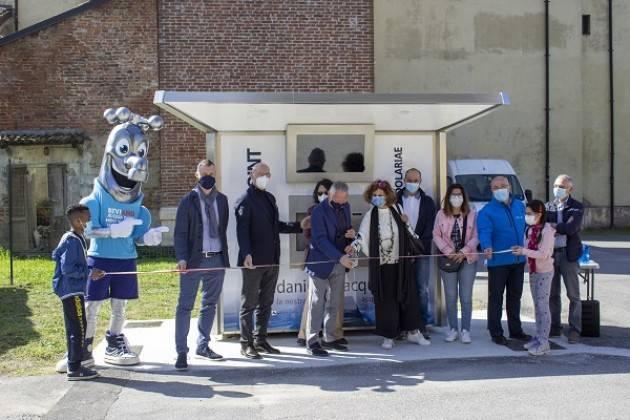 Padania Acque Scandolara Ravara inaugurata casa acqua 'Fonte Villa Scandolariae'