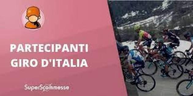 I partecipanti al Giro d'Italia 2021