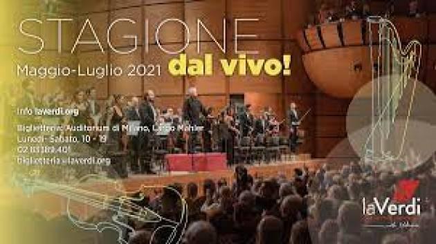 La Verdi di Milano torna con stagione ''Dal vivo!''