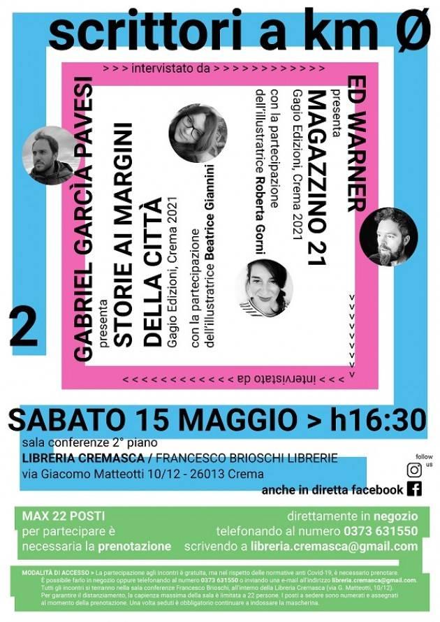 Libreria Cremasca  Beatrice Giannini, Roberta Gorni, Gabriel Garcia Pavesi