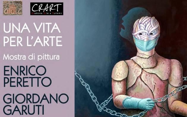 A. A.C.presenta mostra bi-personale 'Una vita per l'arte' Garuti e Peretto.