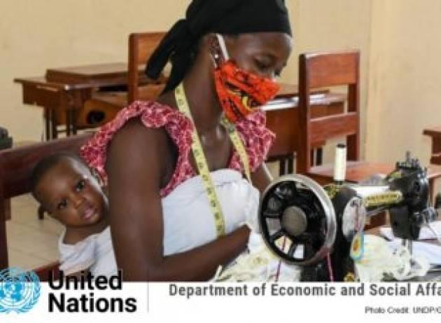 Cinque cose da sapere sullo stato dell'economia: la crisi del Covid-19 pesa sulle spalle di donne e ragazze