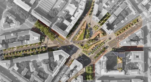 A Milano nuova piazzale Loreto più verde in vista del 2026