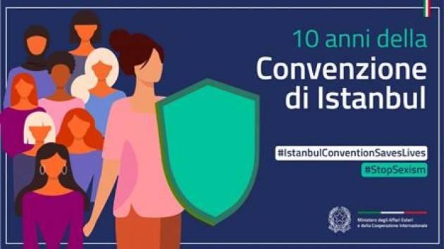 10 anni della Convenzione di Istanbul