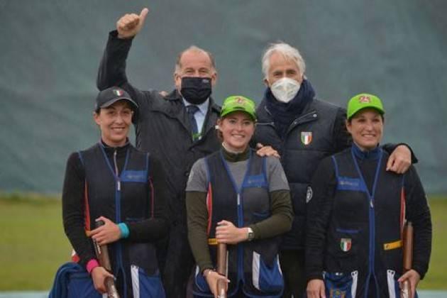 Cdm a Lonato; Italia vince prove a squadre di Tiro al volo