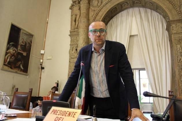CR Presidente  Carletti stupito richiesta regolamentazione lavori C.C.