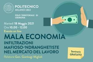 Campus CR Poli MI MALA ECONOMIA Infiltrazioni mafioso – 'ndranghetiste