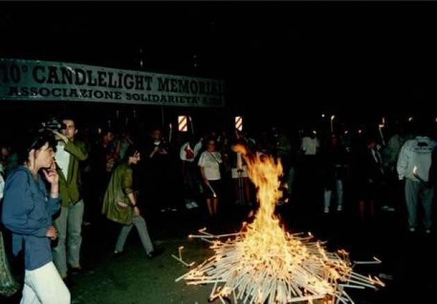 Aids: a Milano candlelight memorial per vittime anche Covid