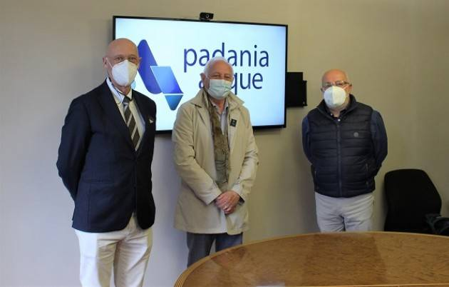 Cremona Padania Acque e A.R.Sa.C. siglato il protocollo d'intesa 'Acqua d'Argento'