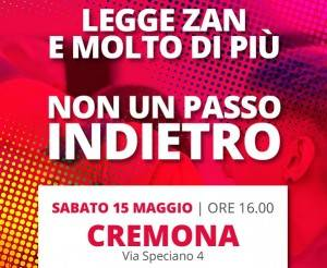 Cremona partecipa a giornata mobilitazione per approvazione del ddl Zan
