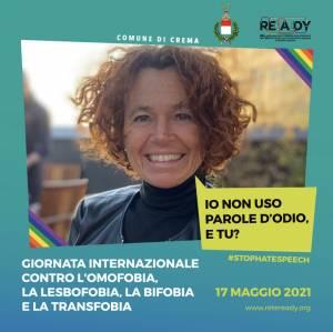 Giornata contro l'omofobia, campagna social Comune Crema