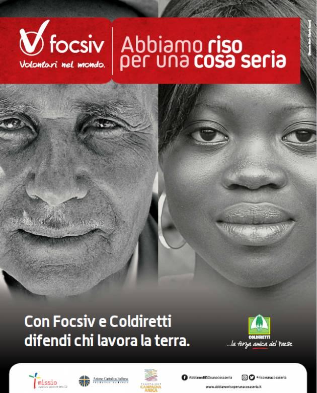 Coldiretti  Abbiamo riso per una cosa seria Campagna Amica  a Cremona e Crema