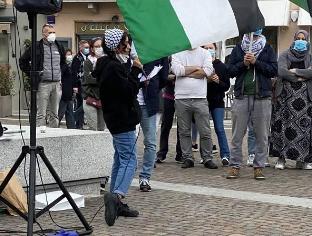 Crema Sinistra Italiana ha partecipato presidio solidarietà popolo palestinese