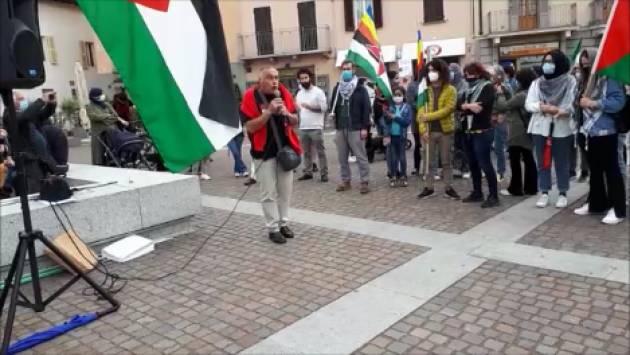 Palestina Libera lo slogan della manifestazione dello scorso sabato 15 maggio a Crema [Video]