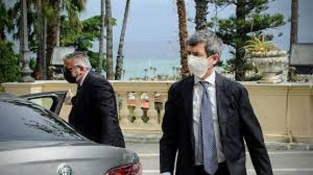 Ministro Orlando in visita a Palazzo Lombardia