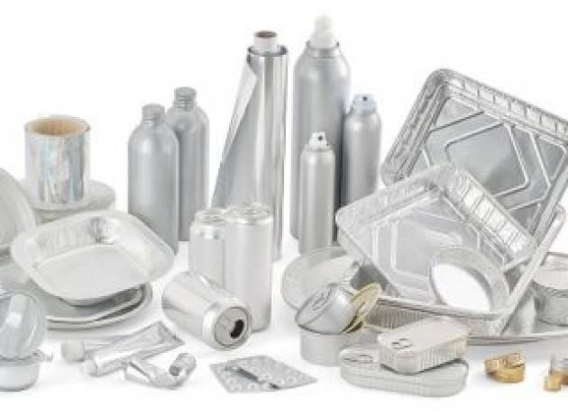 Alluminio, nell'ultimo anno in Italia avviate a riciclo 47.400 tonnellate di imballaggi