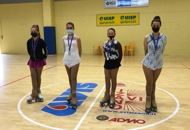 Un successo campionato naz.UISP pattinaggio a rotelle di Izano