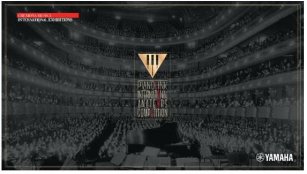 CremonaFiere ha presentato PIANOLINK INTERNATIONAL AMATEURS COMPETITION