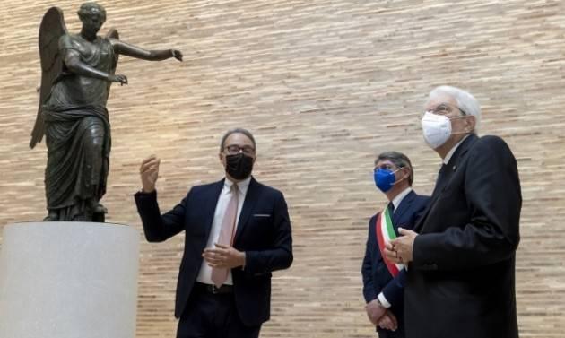 Mattarella IERI a Brescia: questo è il tempo del rilancio