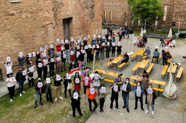 Arcigay Cremona  soddisfatta per iniziativa sostegno ddl Zan 15 maggio scorso