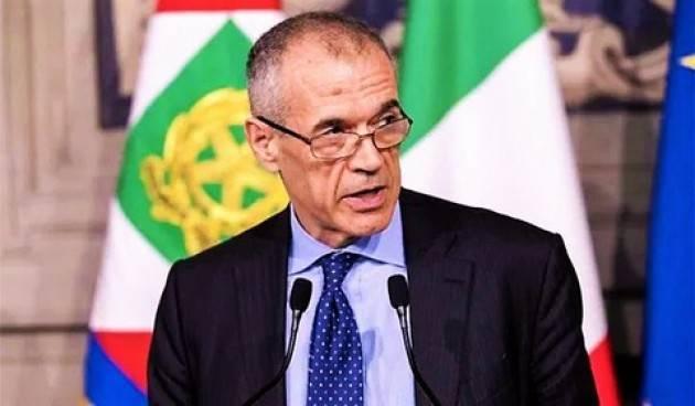 Carlo Cottarelli disponibile a fare il sindaco di Cremona | G.C.Storti