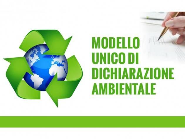 CC Cremona WEBINAR GRATUITO MUD: MODELLO UNICO DI DICHIARAZIONE AMBIENTALE