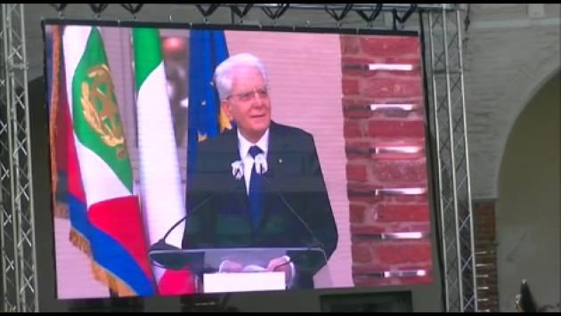 La visita del Presidente  Sergio Mattarella a Cremona  25 maggio 2021