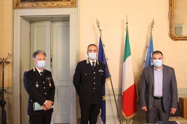 Cremona Passaggio di consegne al comando della Polizia Provinciale