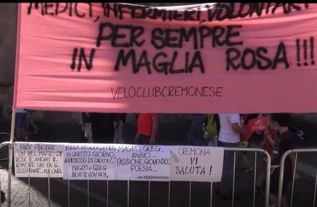 Giro d'Italia, la 18ª tappa passa da Cremona Qualche immagine