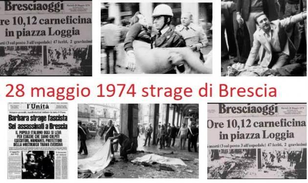 CNDDU 28 maggio 2021 il 47° anniversario della strage della Loggia a Brescia