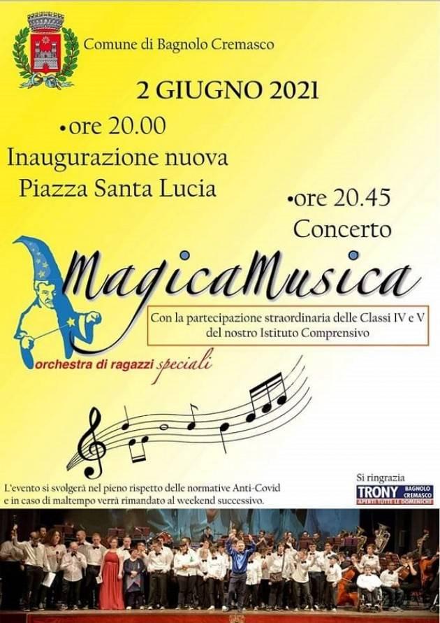MagicaMusica torna sul palco a Bagnolo: 'siamo emozionati'