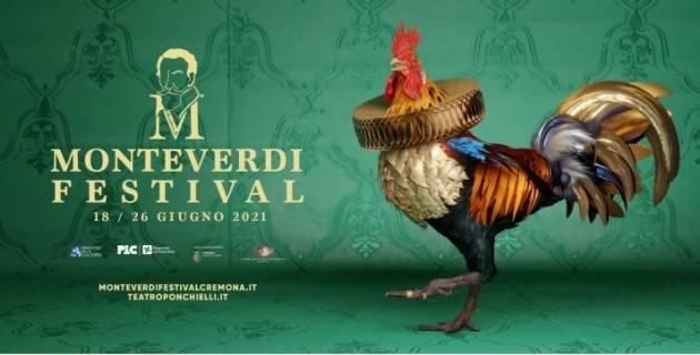 Cremona AL VIA MONTEVERDI FESTIVAL 2021 dal 18 al 26 giugno Anteprima il 16/6