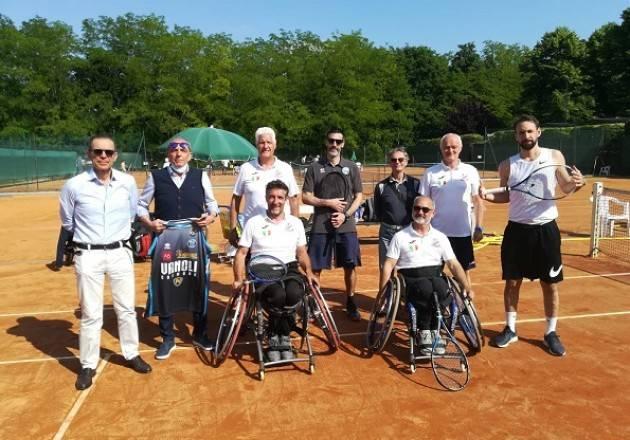 Cremona Tennis in carrozzina:perfetta integrazione tra Baldesio e Vanoli Basket