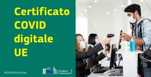 Certificato Covid digitale Ue: un mese prima della data prevista il gateway è già operativo in sette paesi