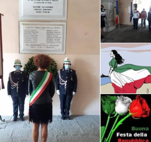 Crema Stefania Bonaldi  L'Italia di oggi poggia le sue fondamenta sull'antifascismo