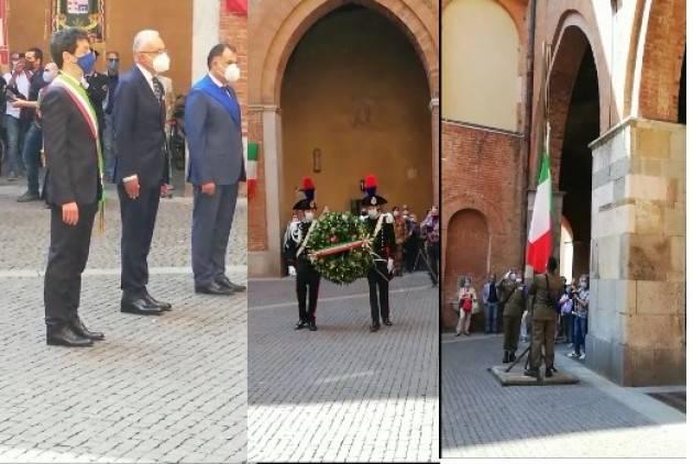 Cremona Celebrazione 75° Repubblica  Italiana 2 giugno 2021 E.Sciacca (Video)