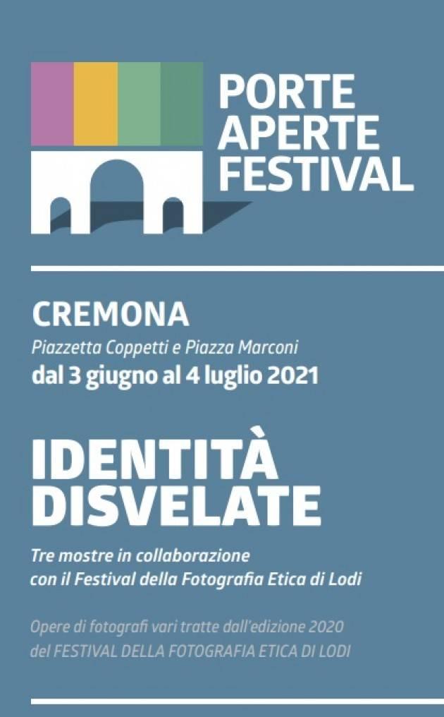 Cremona PAF 2021 IDENTITà disvelate Tre mostre