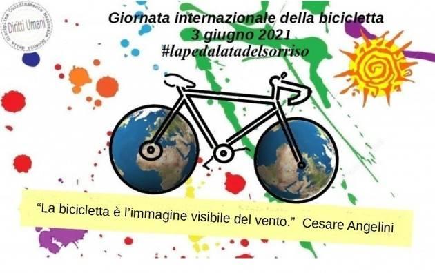 CNDDU 3 giugno Giornata internazionale della bicicletta 2021