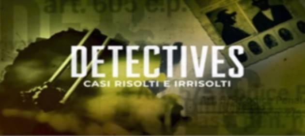 Al via su Rai2 la nuova serie ''DETECTIVES''