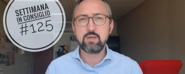 Matteo Piloni (PD) VACCINI E VACANZE LA SETTIMANA IN CONSIGLIO #125 (Video)