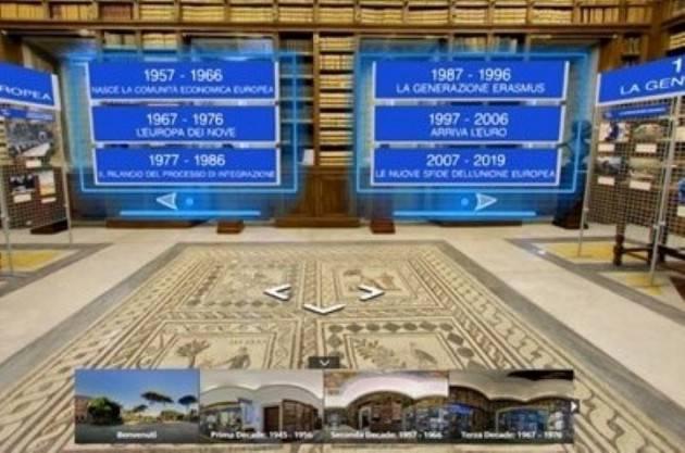 ''L'Italia in Europa - L'Europa in Italia'' diventa un ''tour virtuale''