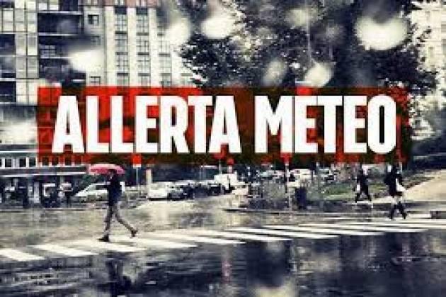 Allerta gialla in serata a Milano per temporali