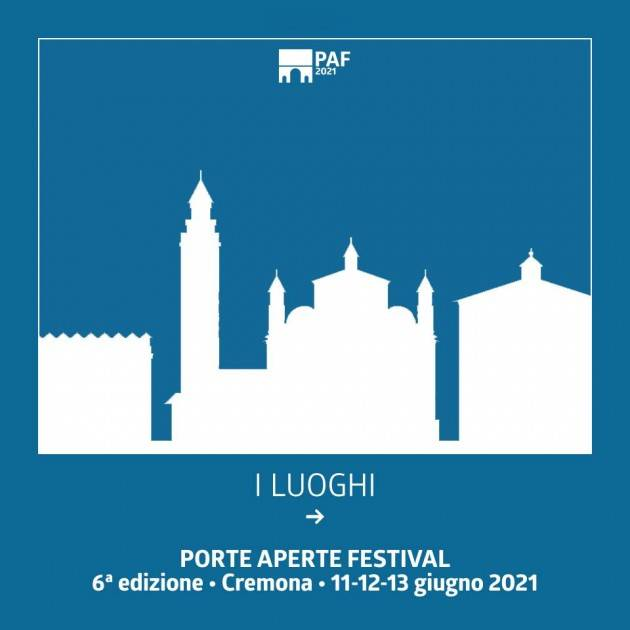 I luoghi del Porte Aperte Festival 2021