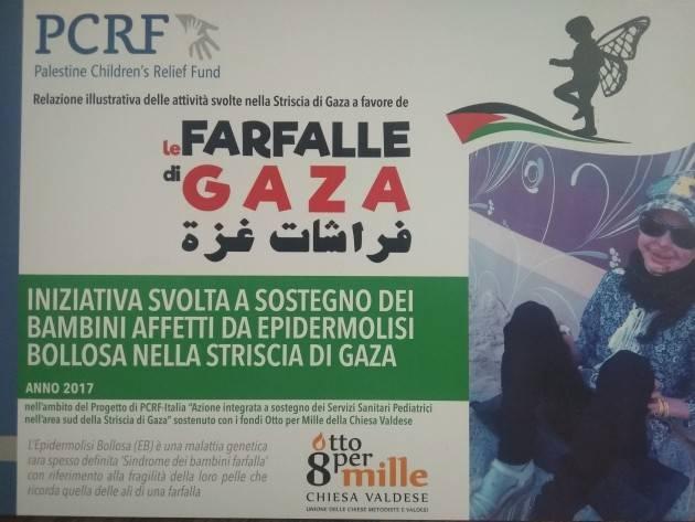 PER UN AIUTO CONCRETO AI BAMBINI FARFALLA DI GAZA .....