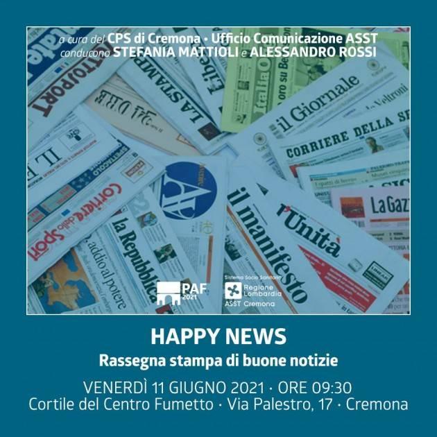 Le Happy News del Porte Aperte Festival
