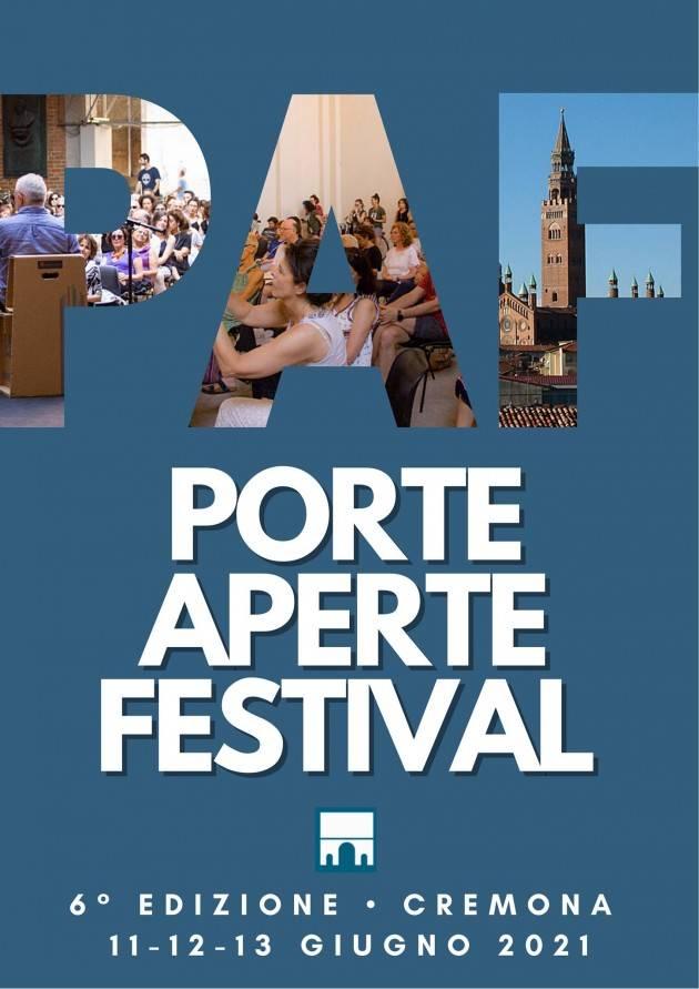 Porte Aperte Festival 2021: il programma completo di venerdì 11 giugno