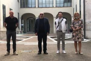 CNA Cremona Il liutaio  Bissolotti visita Istituto  Antonio Stradivari.
