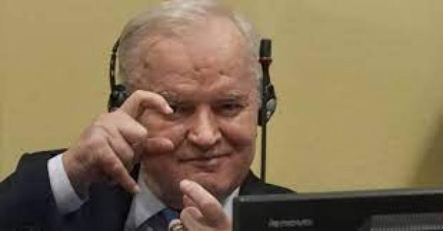 La Farnesina sulla condanna definitiva di Ratko Mladic: giustizia per le vittime